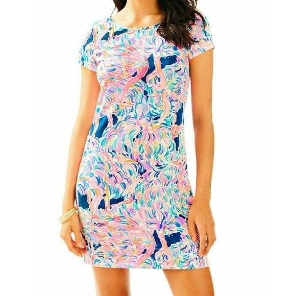 26f4334c7ef2ae Lilly Pulitzer Dresses & Skirts - Dress Short Sleeve Pelican Pink Head In  The Sand